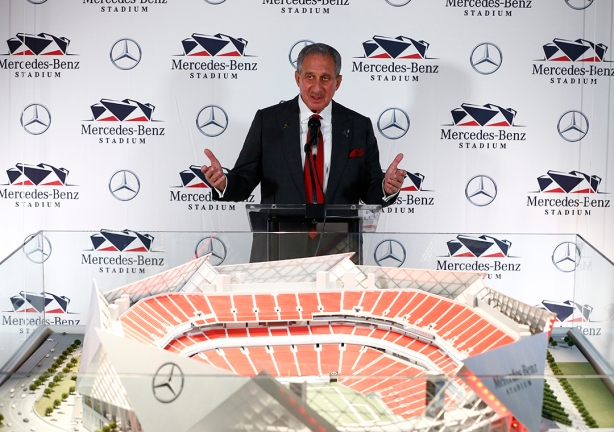 Mercedes Benz Stadium Contractor