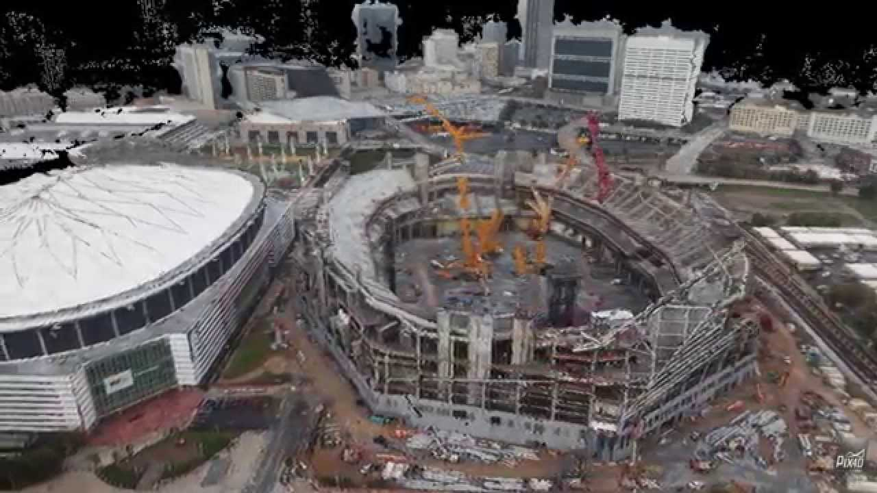 Falcons confident 200m in changes won t delay stadium for Mercedes benz of columbus ga