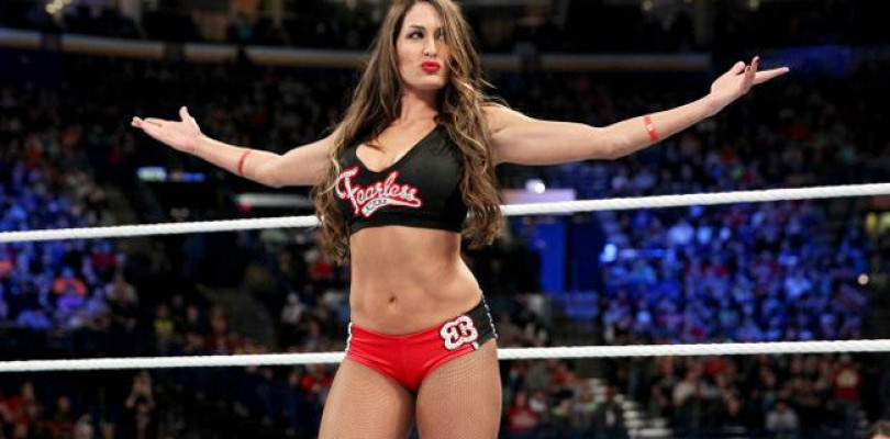 Certainly wwe diva nikki bella sorry, that