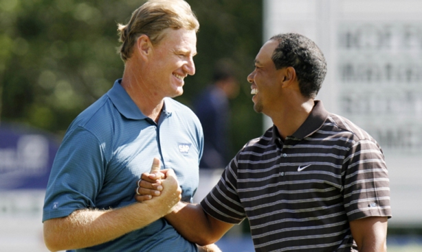 Tiger Woods, Ernie Els