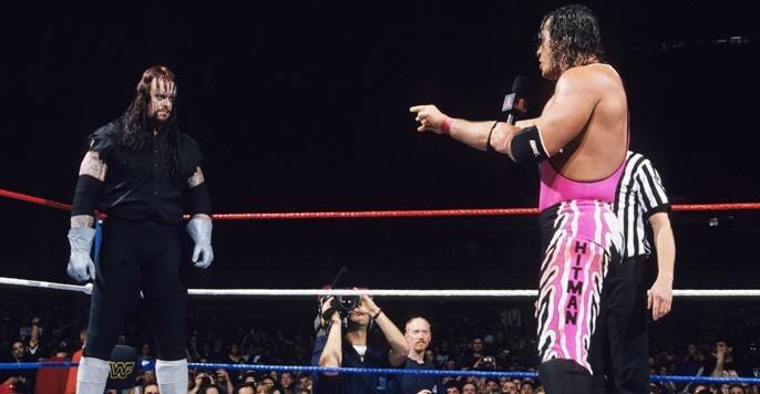 Bret Hart vs The Undertaker   MSG 01/31/92 - YouTube