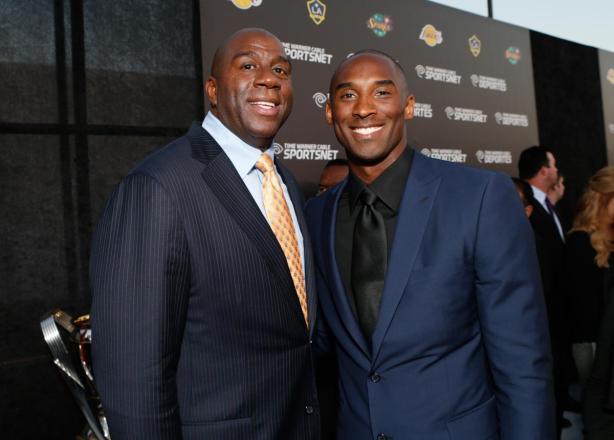 Magic Johnson; Kobe Bryant