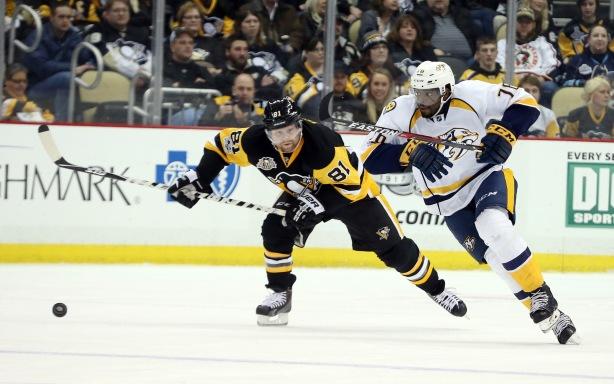 NHL: Nashville Predators at Pittsburgh Penguins