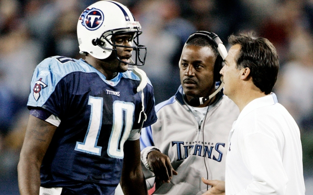 Vince Young, Jeff Fisher, Craig Johnson