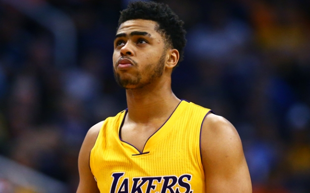 D'Angelo Russell downplays Magic Johnson's parting shot ...