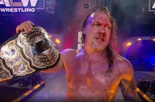 Chris Jericho Crowned First AEW World Champion At All Out ...